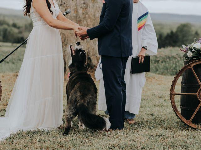 David and Pascale's wedding in Scotsburn, Nova Scotia 40