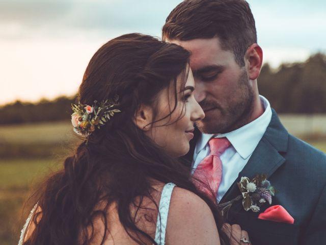 David and Pascale's wedding in Scotsburn, Nova Scotia 2