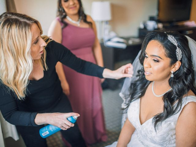 Marc and Brittany's wedding in Mississauga, Ontario 9