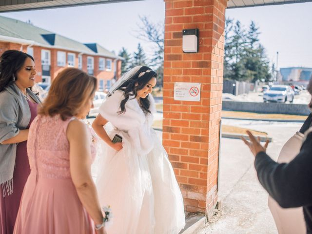 Marc and Brittany's wedding in Mississauga, Ontario 10
