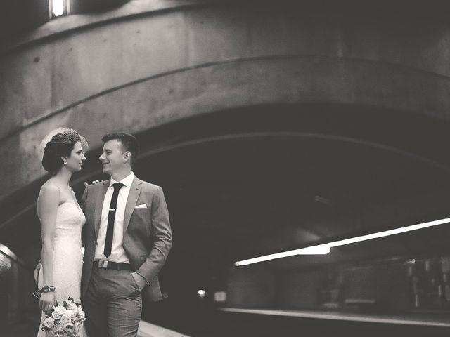 JÈrÈmie and Catherine's wedding in Montreal, Quebec 1