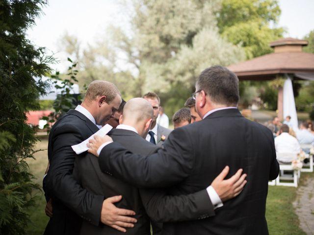 Jordan and Haley's wedding in Niagara on the Lake, Ontario 45