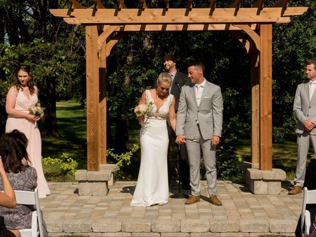 The wedding of Shaun and Amanda