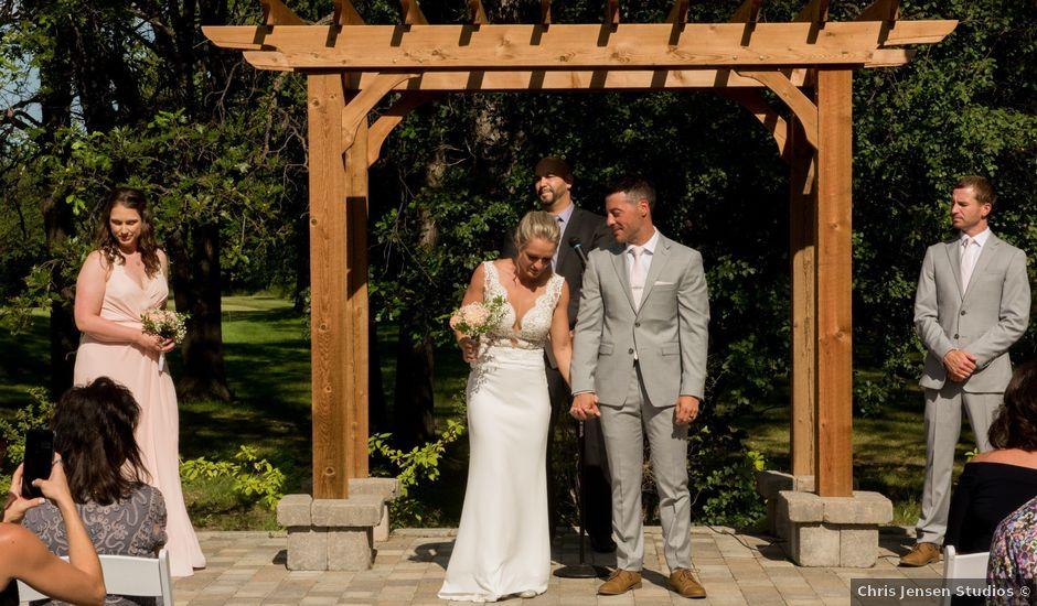 Amanda and Shaun's wedding in Winnipeg, Manitoba