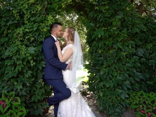 The wedding of Sonia and Bohdan