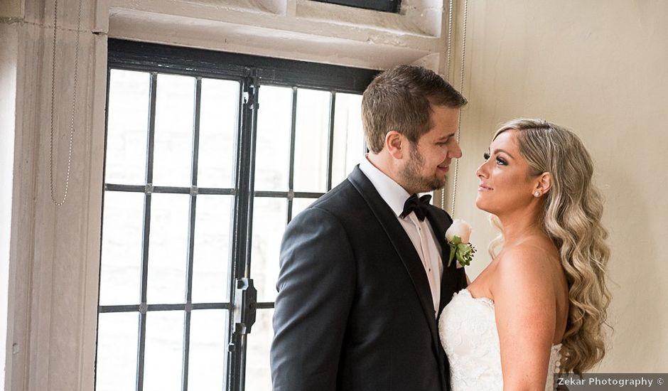 Joey and Nicole's wedding in Toronto, Ontario