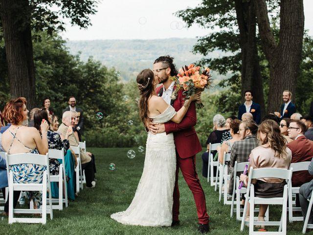 The wedding of Cassandra and Brendan
