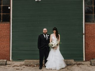 The wedding of Megan and Adam