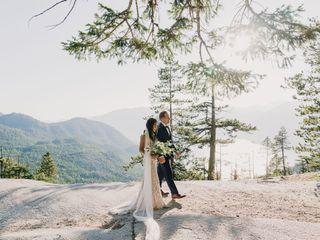 The wedding of Kim and Jason