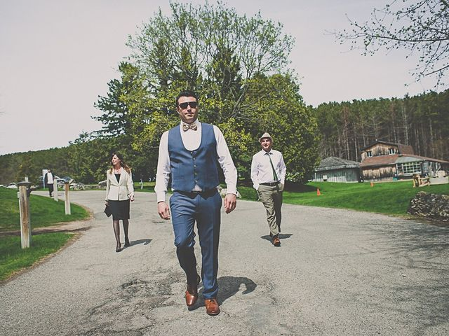 Fernando and Abbey's wedding in Caledon, Ontario 1