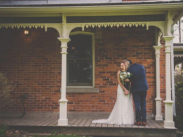 Fernando and Abbey's wedding in Caledon, Ontario 8