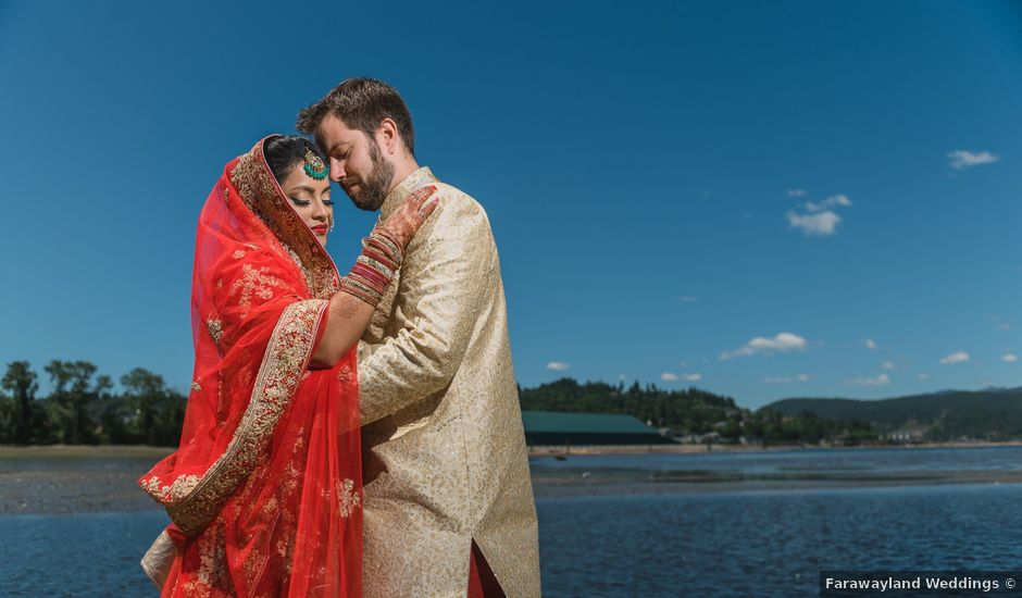 Brent and Soni's wedding in Vancouver, British Columbia