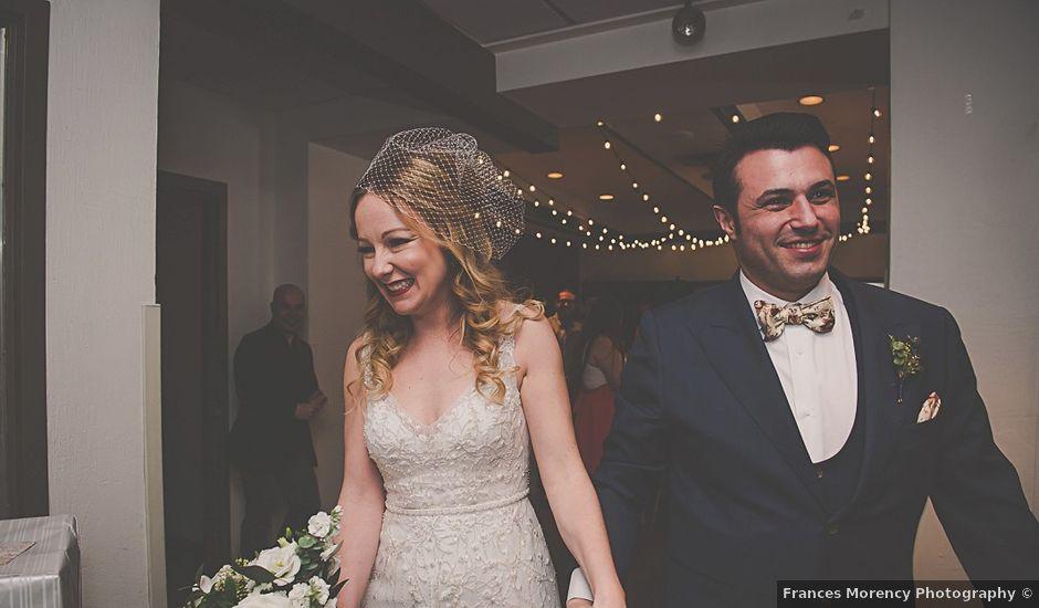 Fernando and Abbey's wedding in Caledon, Ontario
