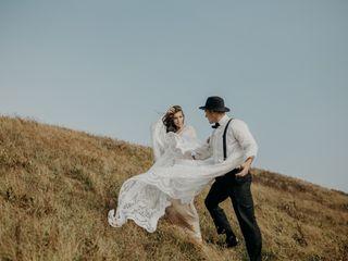 The wedding of Caroline and Jake