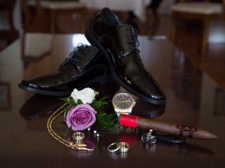 The wedding of Jennifer and Michael 1