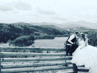 The wedding of Zoe and Doug