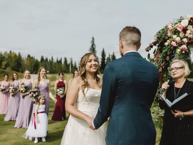 Devon and Hannah's wedding in Bragg Creek, Alberta 3