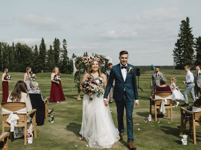 Devon and Hannah's wedding in Bragg Creek, Alberta 4