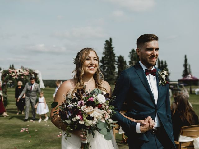 Devon and Hannah's wedding in Bragg Creek, Alberta 5