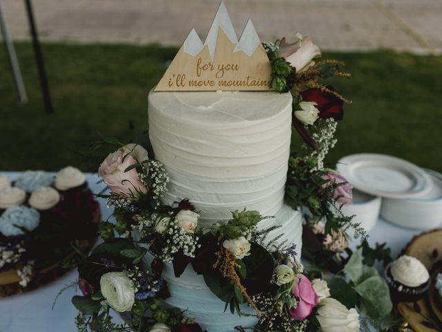 Devon and Hannah's wedding in Bragg Creek, Alberta 6