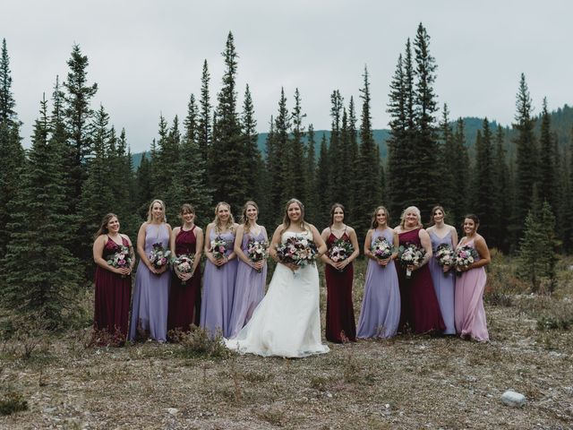 Devon and Hannah's wedding in Bragg Creek, Alberta 7