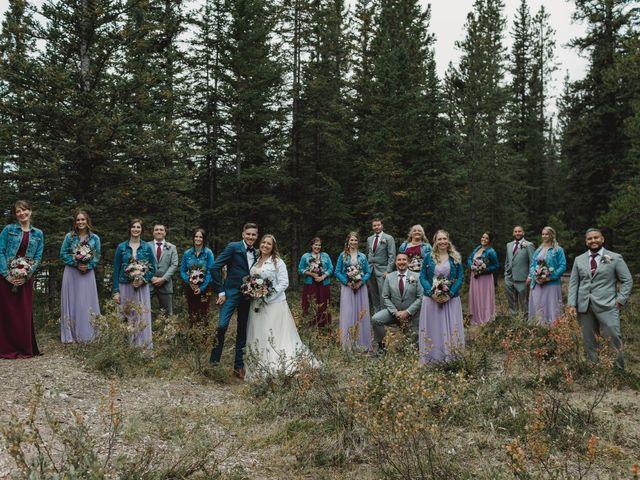 Devon and Hannah's wedding in Bragg Creek, Alberta 8