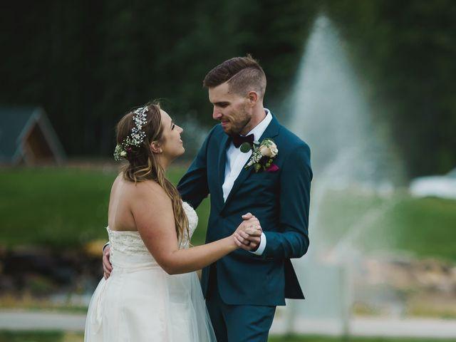 Devon and Hannah's wedding in Bragg Creek, Alberta 10