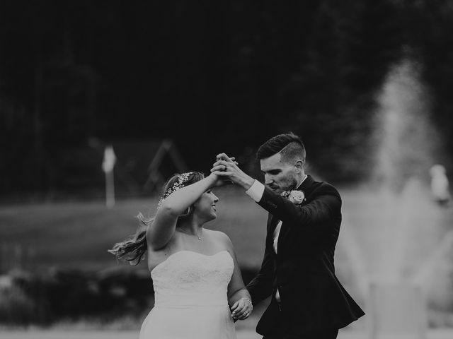 Devon and Hannah's wedding in Bragg Creek, Alberta 11