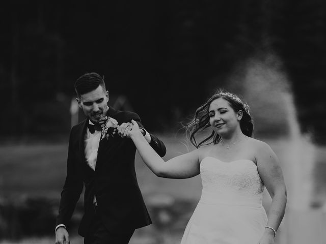 Devon and Hannah's wedding in Bragg Creek, Alberta 12