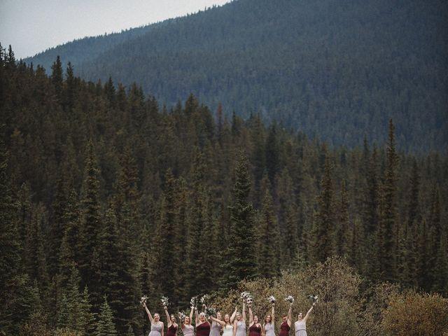 Devon and Hannah's wedding in Bragg Creek, Alberta 14