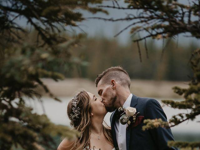 Devon and Hannah's wedding in Bragg Creek, Alberta 1