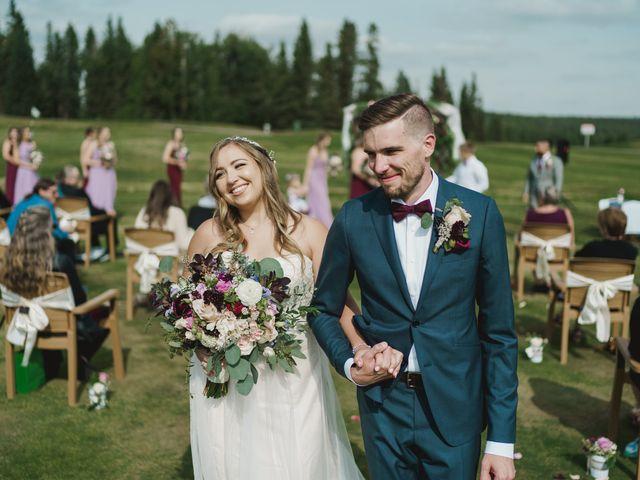Devon and Hannah's wedding in Bragg Creek, Alberta 16