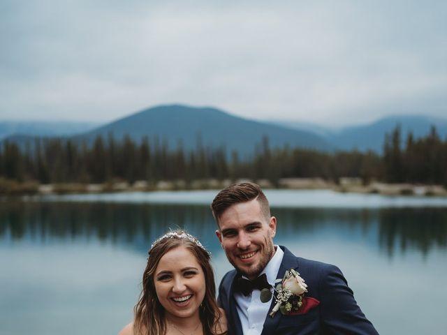 Devon and Hannah's wedding in Bragg Creek, Alberta 18