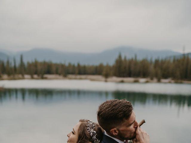Devon and Hannah's wedding in Bragg Creek, Alberta 22