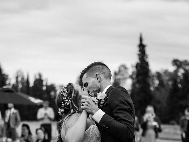Devon and Hannah's wedding in Bragg Creek, Alberta 2