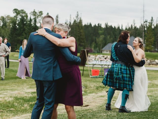Devon and Hannah's wedding in Bragg Creek, Alberta 24