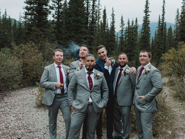 Devon and Hannah's wedding in Bragg Creek, Alberta 31