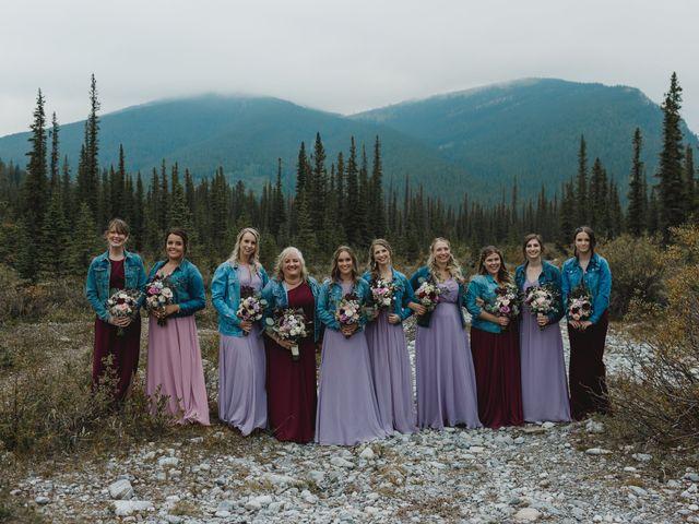 Devon and Hannah's wedding in Bragg Creek, Alberta 32
