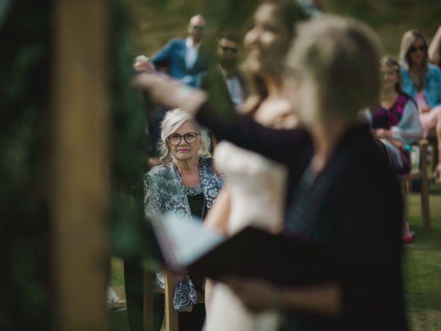 Devon and Hannah's wedding in Bragg Creek, Alberta 41