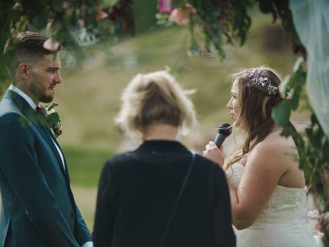 Devon and Hannah's wedding in Bragg Creek, Alberta 43