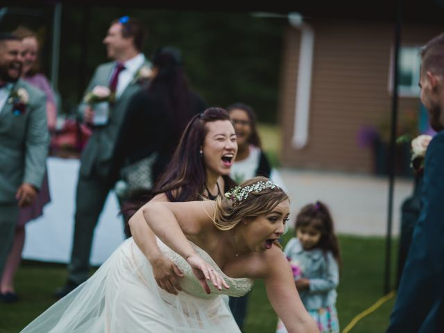 Devon and Hannah's wedding in Bragg Creek, Alberta 46