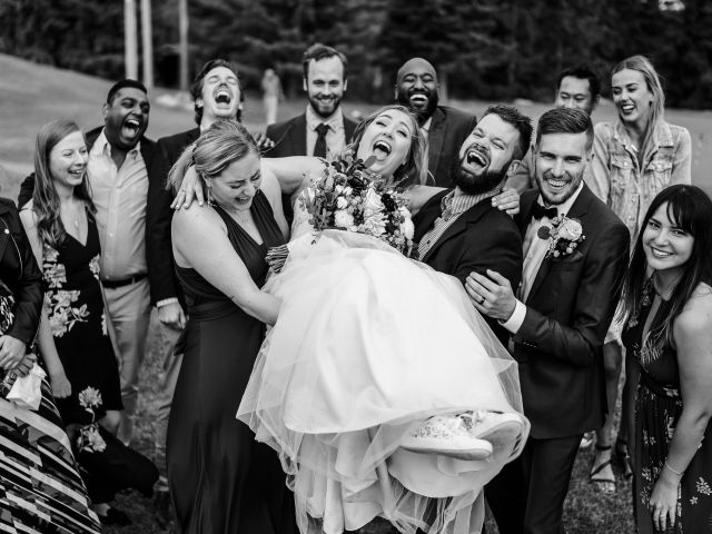 Devon and Hannah's wedding in Bragg Creek, Alberta 62