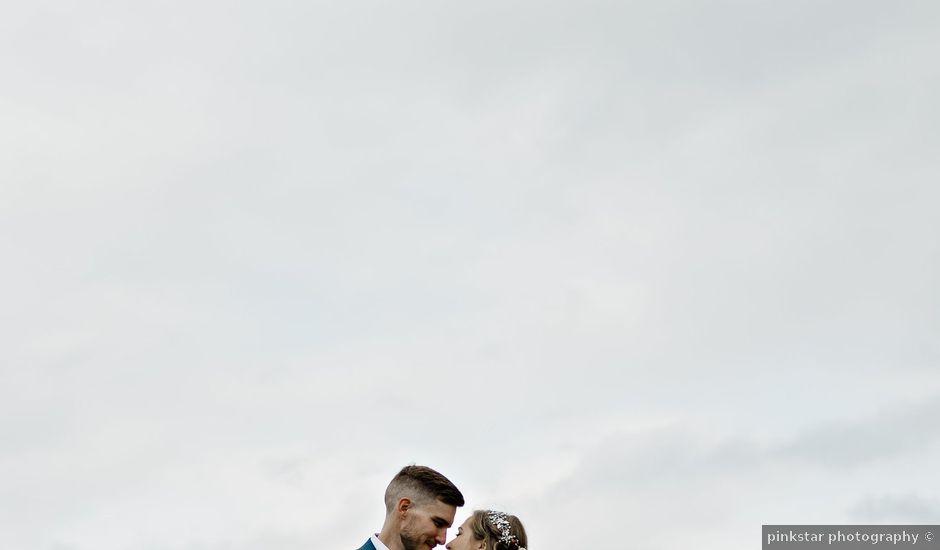 Devon and Hannah's wedding in Bragg Creek, Alberta
