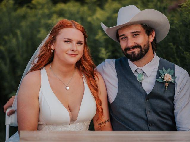 The wedding of Cayla and Aaron