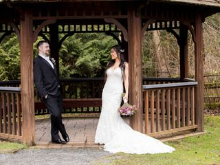The wedding of Karyn and Domenic