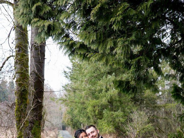 Domenic and Karyn's wedding in Langley, British Columbia 1