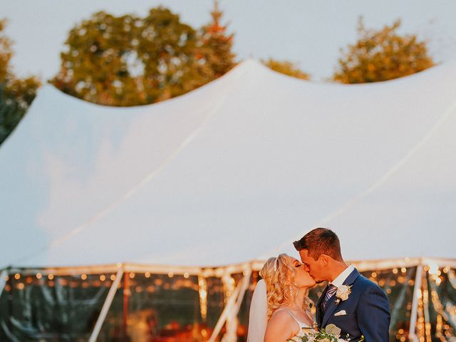 The wedding of Madison and Robert