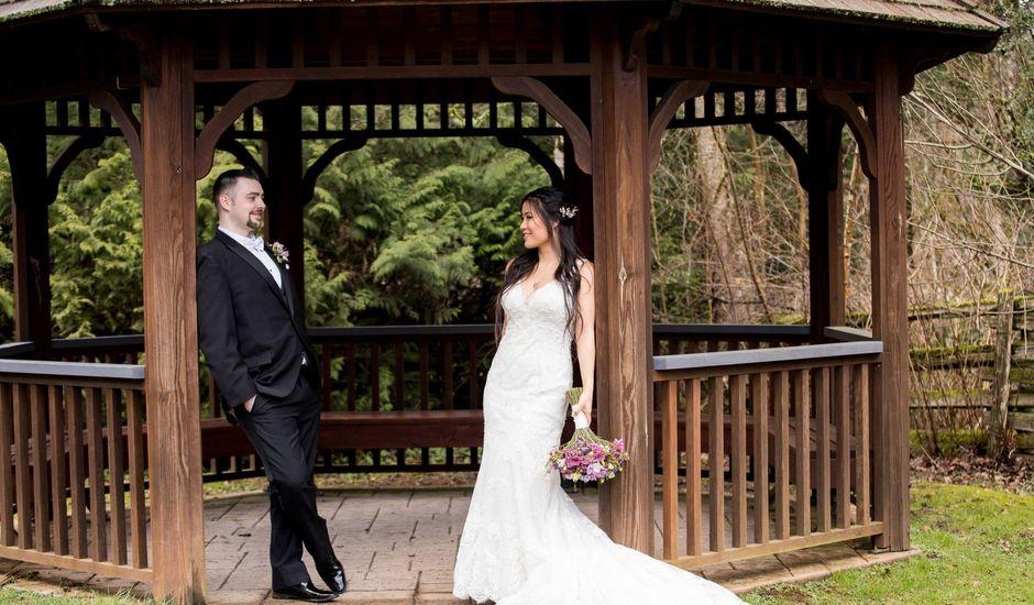 Domenic and Karyn's wedding in Langley, British Columbia
