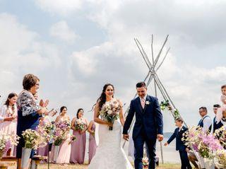 The wedding of Camilla and Sam