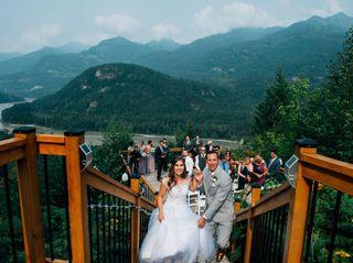 Adam and Katrina's wedding in Hope, British Columbia 3